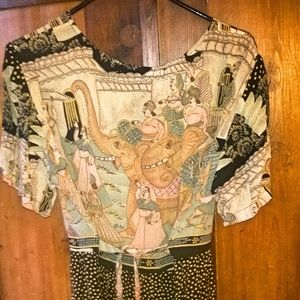 Dresses - Comfy Maxi Dress with fun India Motiv
